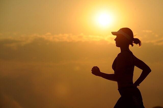ジョギングの画像