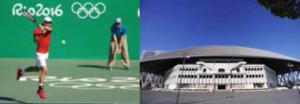 東京オリンピックの競技テニス