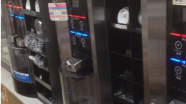 セブンのコーヒーマシン画像