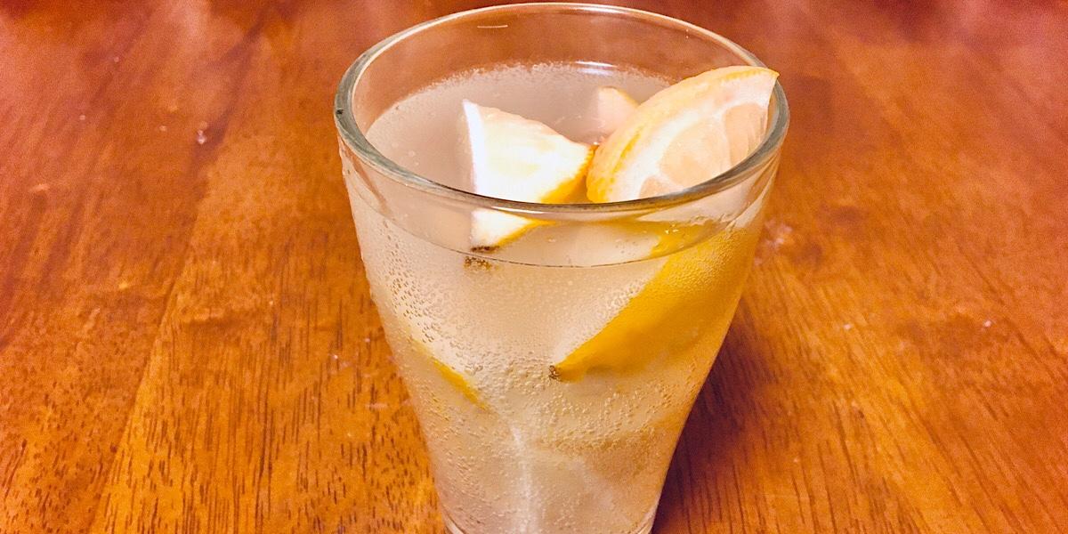 完成した凍結レモンサワー