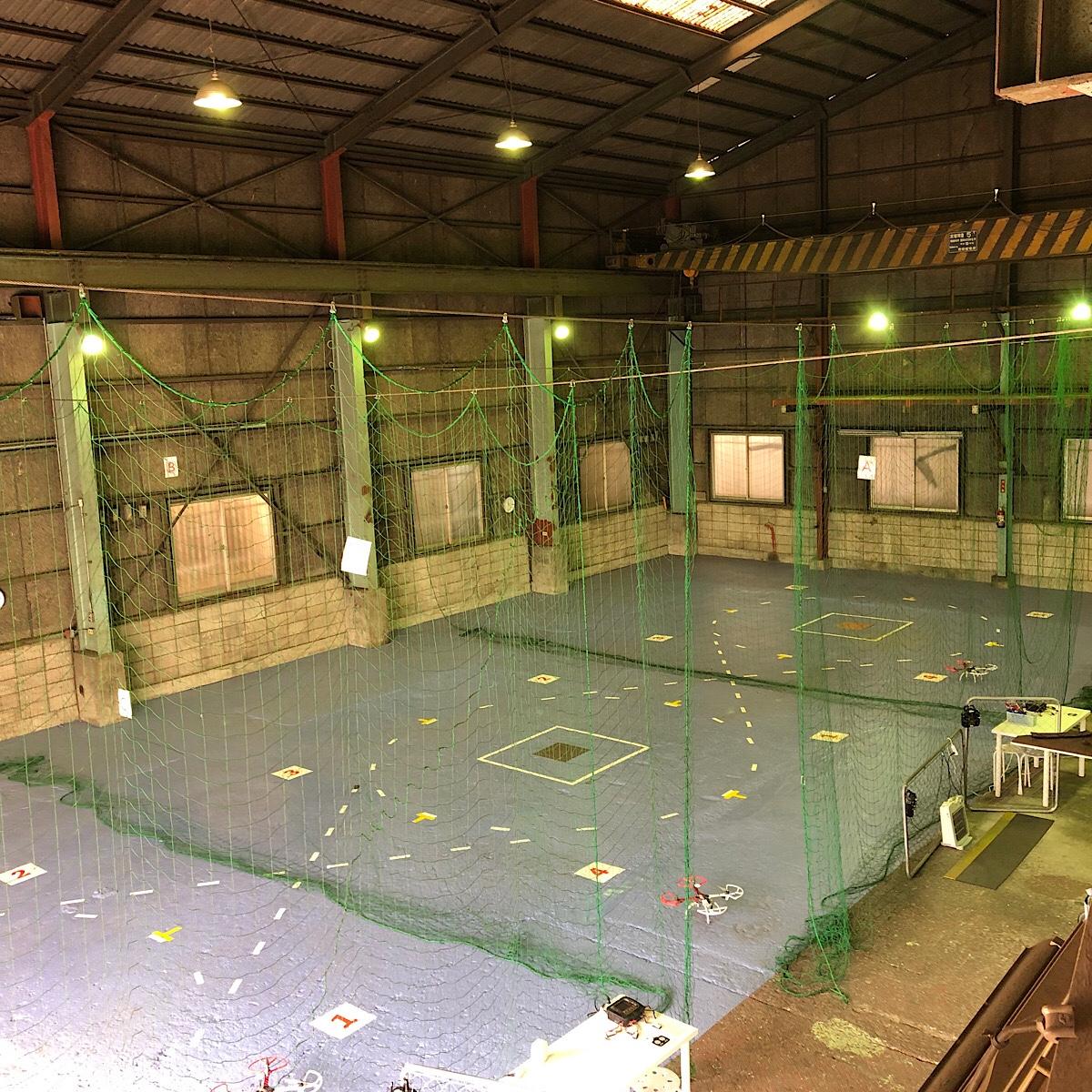 DSJ中目黒の練習場の全体図を撮った写真