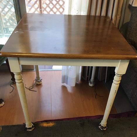 リメイク前のテーブル